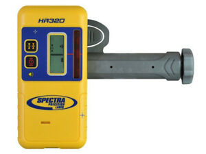 New Spectra Precision Hr320 Laser Detector W c59 Rod Clamp authorized Dealer
