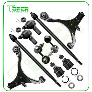 New Front Suspension Kit Ball Joint For 2001 2005 10pc Honda Civic Acura El