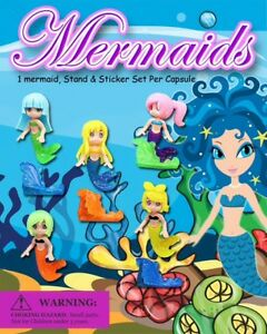 250 Pcs Vending Machine 0 50 0 75 1 00 Capsule Toys Mermaids