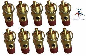 10 Pcs 1 4 Npt 25 Psi Air Compressor Safety Relief Pressure Valve Tank Pop Off