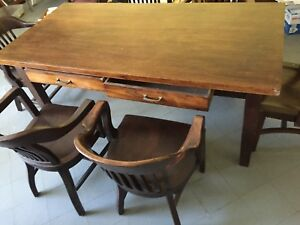 Office Conference Table With 6 Chairs