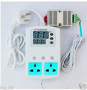 Electronic Thermostat Plug n play Intelligent Temperature Humidity Controller
