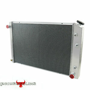 4 Row Radiator For Chevy C10 C20 C30 Pickup Blazer At Mt 1973 1986 1979 1980 75