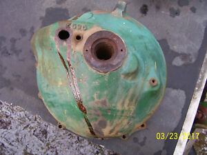 Vintage Oliver 66 Row Crop Tractor bell Housing 1950