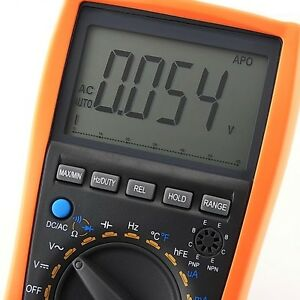 Vc99 Digital Multimeter Thermometer Resistance Capacitance Frequency Ac Dc c f