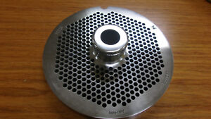 Hubert 56 3 16 Chrome Plated Stainless Steel Grinder Plates