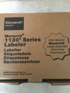 Monarch Hand Held Price Labeler 2 Line 8 Digits Snap In Pop Out 1130 Series