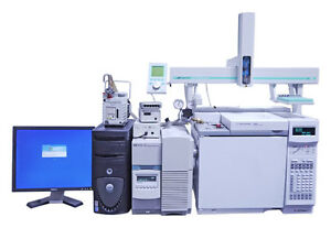 Agilent 6890n 5973n Turbo Gcms System With Ctc Pal Autosampler And Chemstation