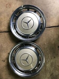 14 Inch Hubcap Wheel Cover Set Of 2 For Mercedes Benz