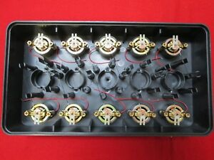 100 Nos Triplett Ua 0 50 Dc Microamperes Taut Band Analog Panel Meter Movements