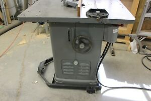 Delta Heavy Duty Single Spindle Woodworking Shaper moulder Ready For Work