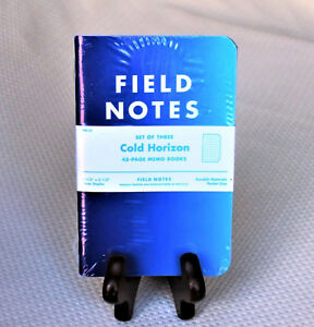 Field Notes Cold Horizon Edition winter 2013 Sealed Notebook 3 pack