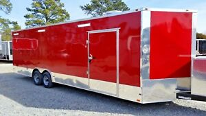 8 5x28 V nose Enclosed Race Car Trailer Hauler