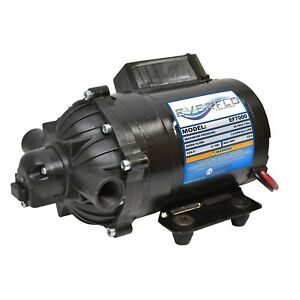 Everflo Ef7000 box 7 0 Gpm 60 Psi 1 2 12v Dc Diaphragm Pump