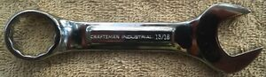 New Craftsman Industrial usa Full Polish 13 16 Stubby Combination Wrench 23622