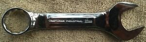 New Craftsman Industrial Usa Full Polish 22mm Stubby Combination Wrench 23641