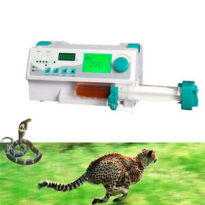 Injection Pump Veterinary Syringe Pump alarm kvo drug Library Injector Pump