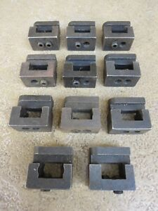 Deal Lot Of 11 Hardinge Type C10 Double Tool Holders For Second Op Chucker