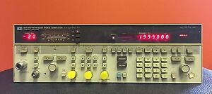 hp Agilent 8673h Opt 212 2 To 12 4 Ghz Synthesized Signal Generator Tested