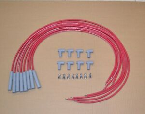 Moroso Spark Plug Wires 8mm Bb Chevy 396 454 Straight Ends Hei Distributor New