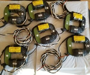 Lot Of 6 North American Power 512274 063 Current Transformers 200 0 1a