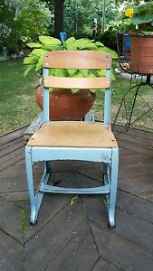 Vintage Child S Sunday School Chair Christmas Display Photography Prop Garden