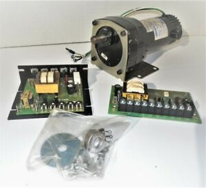 Bison 90vdc 1 20hp Gearmotor With Signal Isolator Adjustable Drive