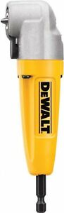 Dewalt Right Angle Attachment Tighter Access With Current Impact Driver