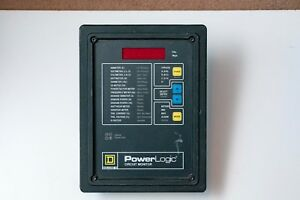 Square D Power Logic 3020 cm 2450 Circuit Monitor W 3020 iom 44 2 Available