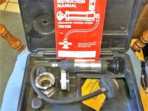Stant St255 Cooling System Pressure Tester With Hard Case