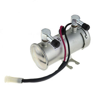 12v Electric Fuel Pump Facet Style For Car Van Diesel Petrol Engine