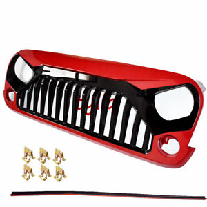 Angry Bird Front Grille Hood For 07 17 Jeep Wrangler Jk Unlimited