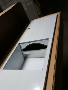 Paper Towel Dispenser And Waste Receptacle