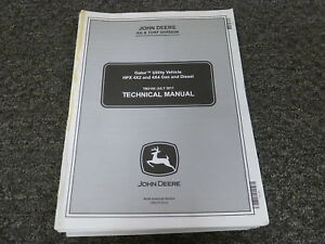 John Deere Gator Hpx 4x2 4x4 Gas Diesel Utv Service Repair Manual Tm2195