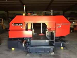 Amada Hfa 700cii Flexible Cutting Horizontal Band Saw 2015 27 6 Cutt Capacity