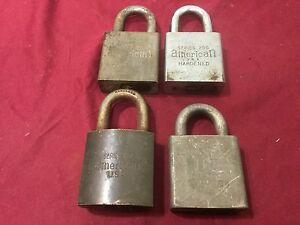 American Lock 660 200 Series Padlocks Set Of 4 Locksmith