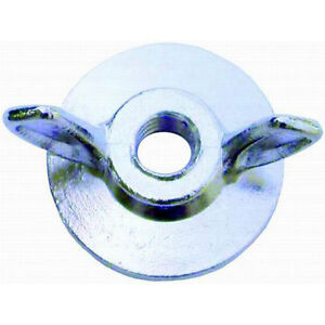 Rpc R2181 Air Cleaner Wing Nut 1 4 20 Thread Steel With Flange