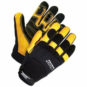 Bob Dale 20 1 10002 x2l Performance Rope rescue Glove With Grain Deerskin Palm
