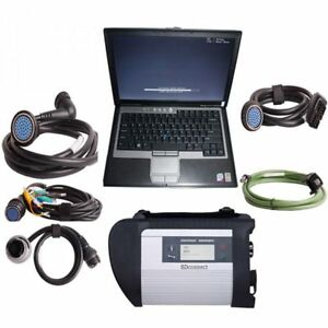 Mb Star Sd Connect C4 Star Diagnostic Tool 2018 09 Software Hdd dell D630 Laptop