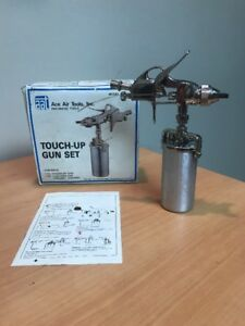 Touch up Paint Spray Gun Set Model Tg 400t With 0 25 Liter Teflon Coated Cup
