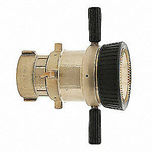 Elkhart Brass Industrial Fire Hose Nozzle 2 1 2 In Csw lb