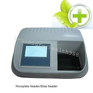 Microplate Reader elisa Reader Eliasa Halogen Lamp Photometric 4 Open Positions
