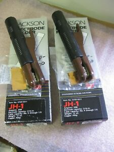 Jackson Jh 1 Electrode Holder lot Of 2