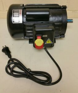 H5388 Grizzly Motor 3 Hp Single phase 3450 Rpm Tefc 240v