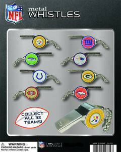Vending Machine 1 00 Capsule Toys Nfl Metal Whistles