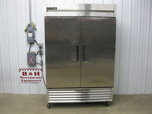True T 49f Two Door 2 Dr Stainless Steel Commercial Reach In Freezer W New Comp