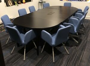 Ikea Bekant Conference Table 10 Chairs great Condition