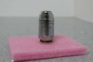 Leitz 63x 1 30 Oil Phaco 3 170 0 17 Phase Contrast Microscope Objective Free S