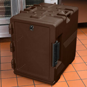 Cambro S series Ultra Insulated Food Carrier Built in Gasket Dark Brown Upcs400