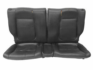 94 01 Acura Integra Gsr Vtec Hatch Oem Jdm Black Leather Rear Seats Trim B18 Dc2